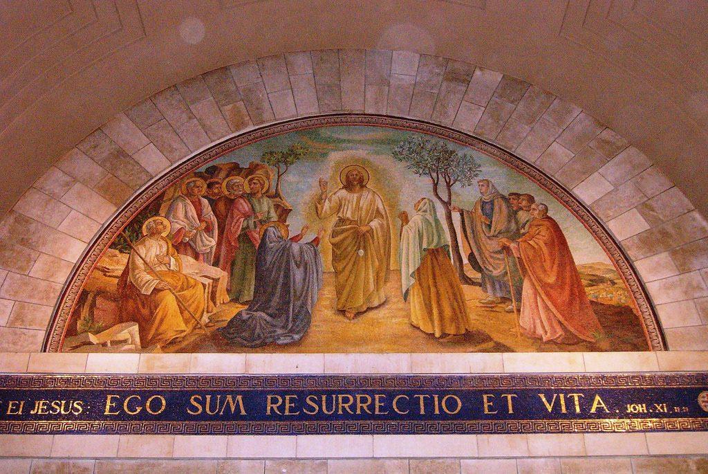 vzkriesenie a život