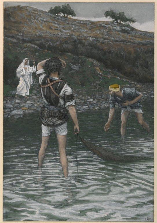 Brooklyn_Museum_-_The_Calling_of_Saint_Peter_and_Saint_Andrew_(Vocation_de_Saint_Pierre_et_Saint_André)_-_James_Tissot_-_overall
