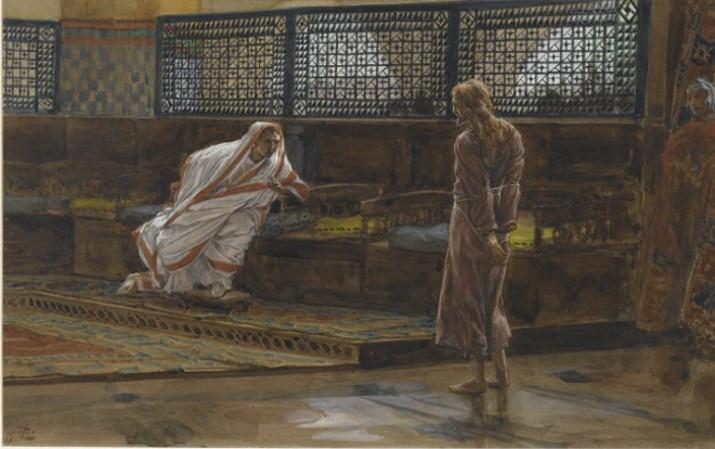 Brooklyn_Museum_-_Jesus_Before_Pilate_First_Interview_Jésus_devant_Pilate._Premier_entretien._-_James_Tissotcrop-715x449